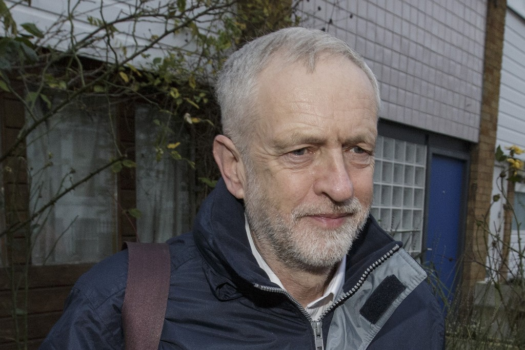 U.K. Labour Party leader Jeremy Corbyn (AP Photo/Tim Ireland, File)