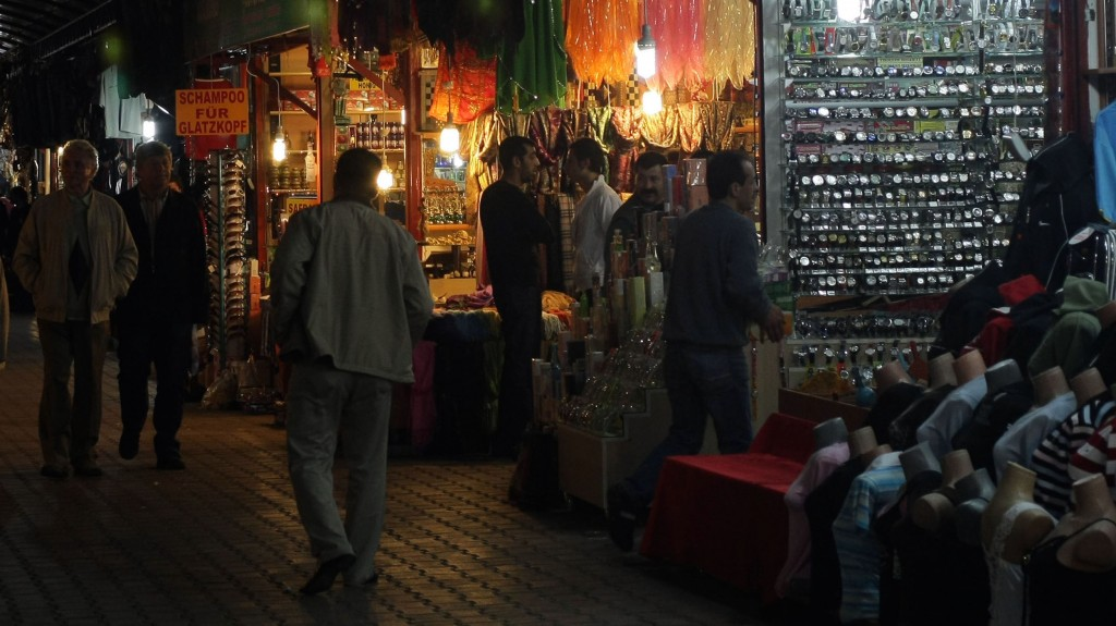 A view of the main bazaar in the city of Antalya. Photo by Kobi Gideon / flash90