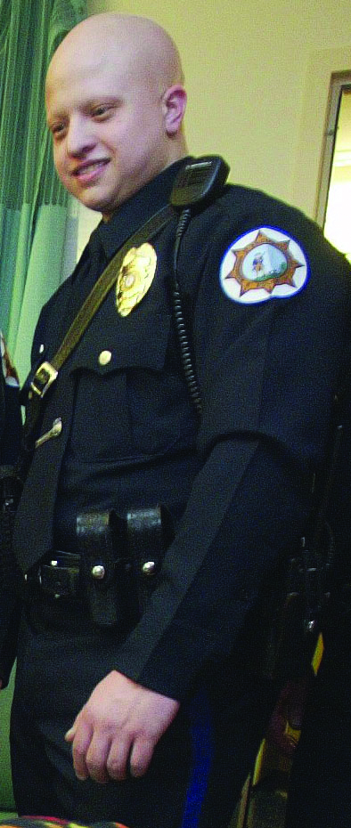 Lakewood Patrolman Christopher Matlosz. (AP Photo/Asbury Park Press)