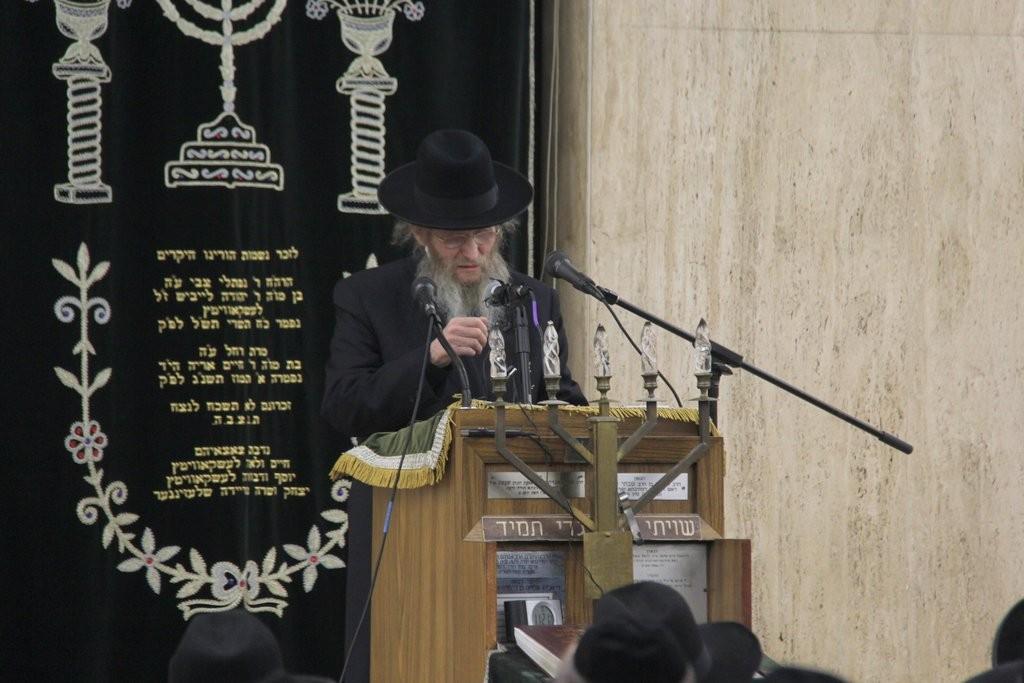 The mashgiach Rav Don Segal, shlita. (Shimon Gifter)