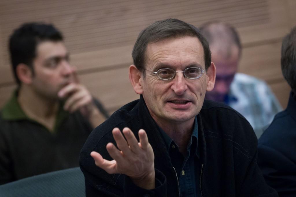 MK Dov Khenin (Joint List), Chairman of the Knesset Public Health Lobby. (Miriam Alster/Flash90)