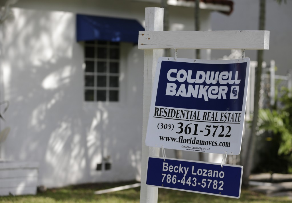 A home for sale in Miami, Florida. (AP Photo/Lynne Sladky)