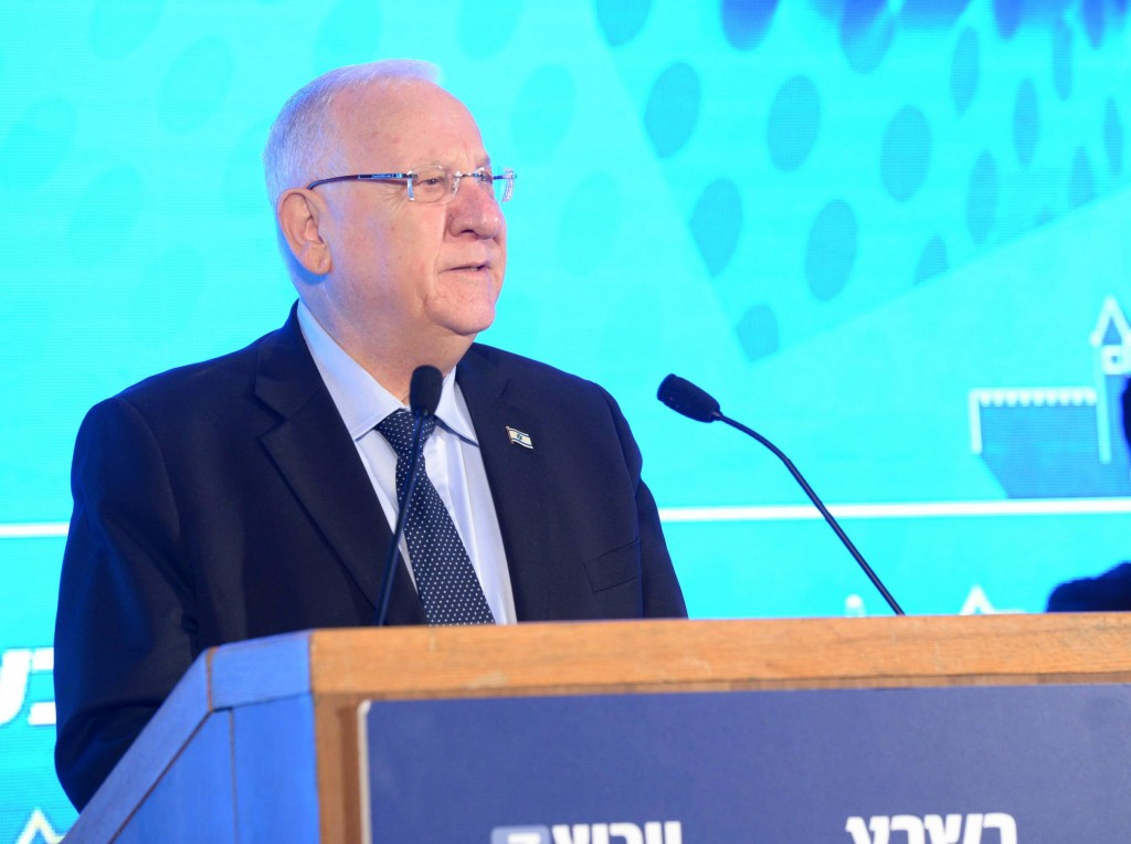 Israeli President Reuven Rivlin (Mark Neyman/GPO)