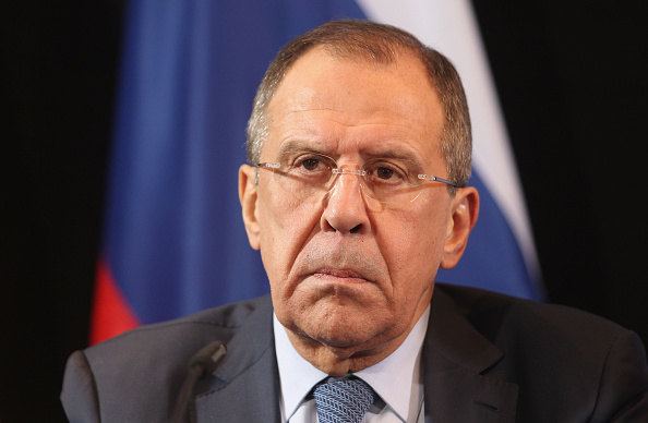 Russian Foreign Minister Sergey Lavrov (Alexandra Beier/Getty Images)