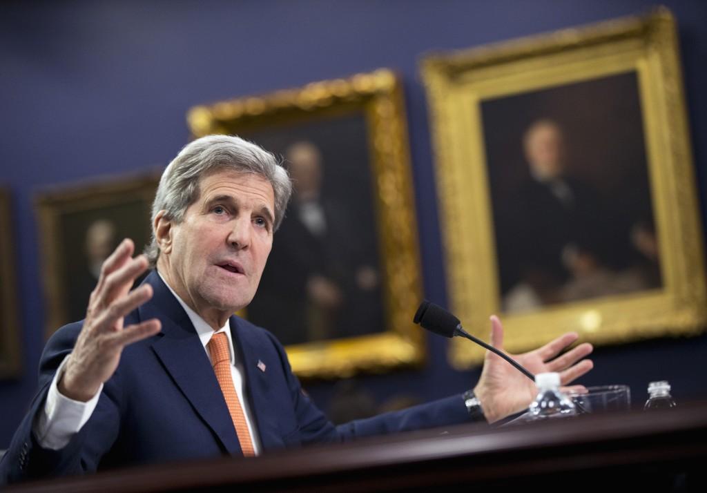 Secretary of State John Kerry (AP Photo/Manuel Balce Ceneta)
