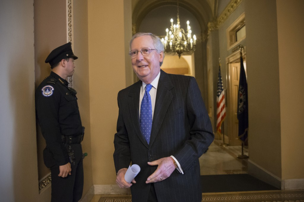 Senate Majority Leader Mitch McConnell (AP Photo/J. Scott Applewhite)