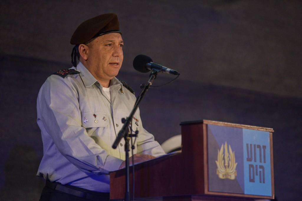 IDF Chief of Staff Gadi Eizenkott. IDF Spokesperson/FLASH90