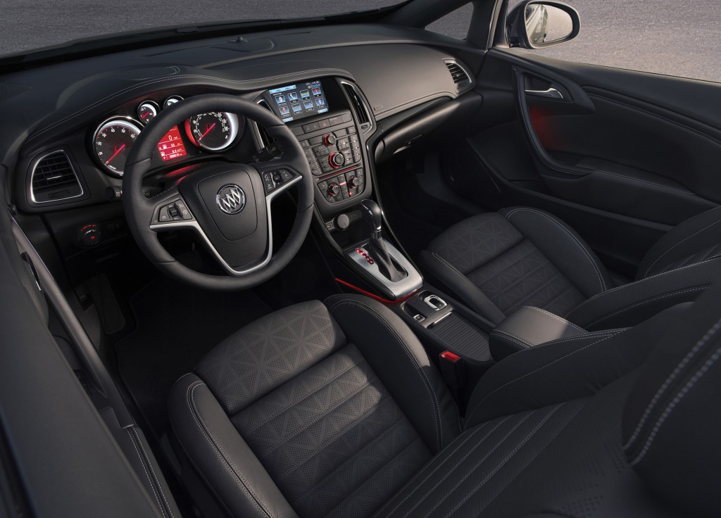 The interior of the 2016 Buick Cascada Convertible. (Buick)