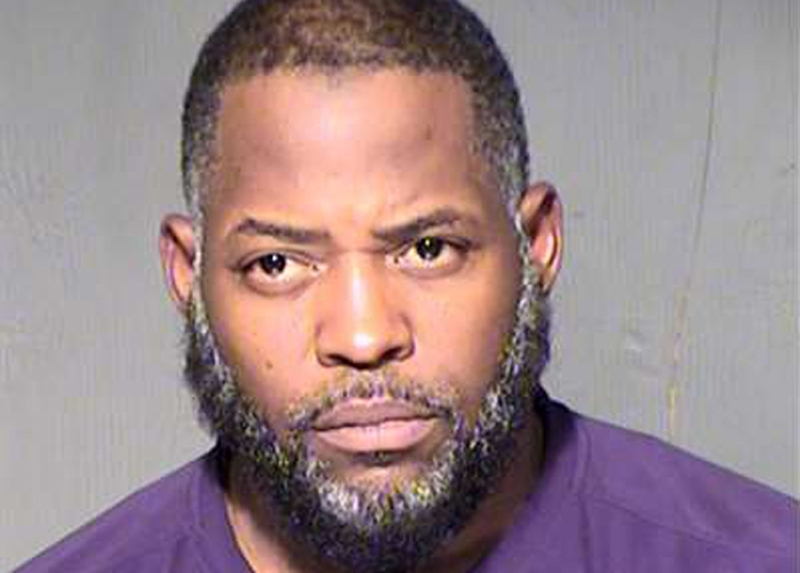 "Abdul Malik Abdul Kareem also known as Decarus Thomas is pictured in this undated booking photo provided by the Maricopa County Sheriff's Office. Kareem was found guilty on March 17, 2016, of plotting with others to attack a ""Draw Mohammed"" cartoon contest in Texas last year and providing material support to the Islamic State group, prosecutors said. REUTERS/Maricopa County Sheriff's Office/Handout via Reuters ATTENTION EDITORS - FOR EDITORIAL USE ONLY. NOT FOR SALE FOR MARKETING OR ADVERTISING CAMPAIGNS. THIS IMAGE HAS BEEN SUPPLIED BY A THIRD PARTY. IT IS DISTRIBUTED, EXACTLY AS RECEIVED BY REUTERS, AS A SERVICE TO CLIENTS"