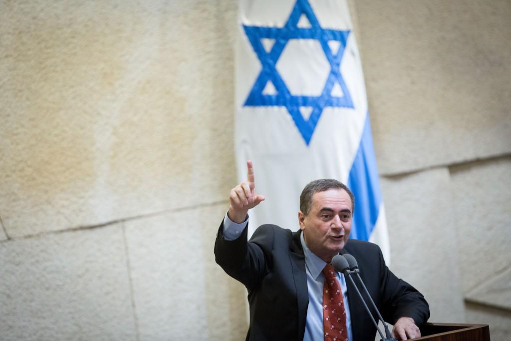 Israeli Minister of Transportation Yisrael Katz. (Miriam Alster/Flash90)