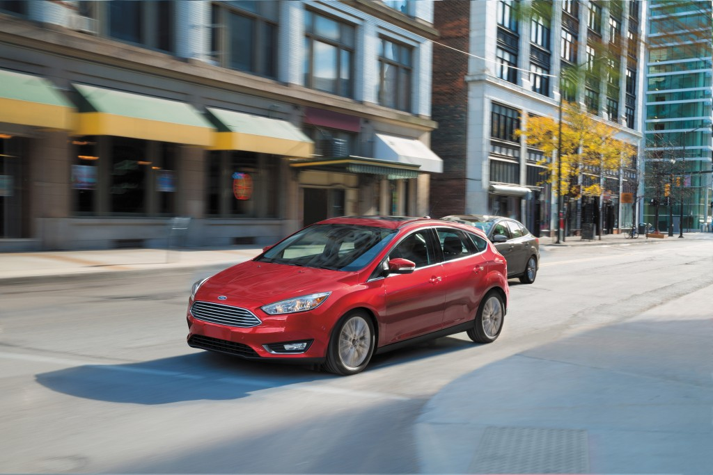 The 2016 Ford Focus Titanium. (Ford Motor Co.)