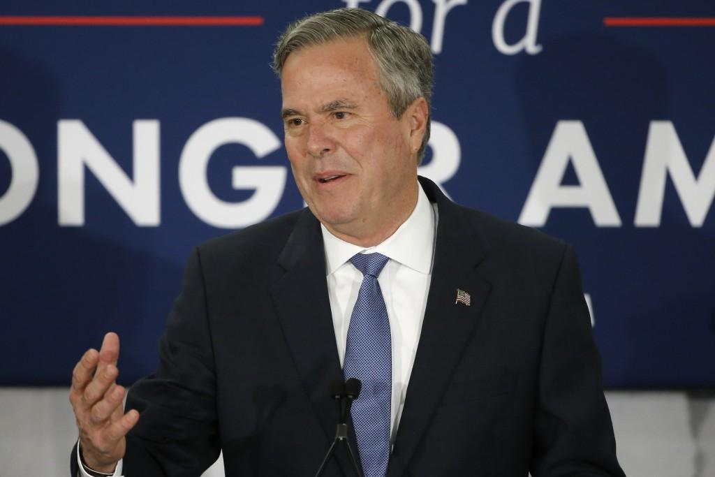 Former Florida Gov. Jeb Bush. (AP Photo/Matt Rourke, File)