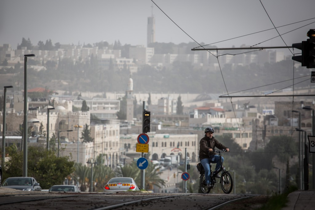 Arab neighborhood in Jerusalem. Photo by Hadas Parush/FLASH90