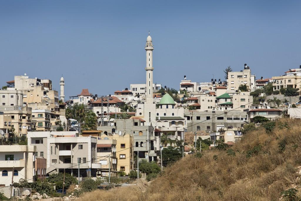 View of the Israeli-Arab town of Kfar Kassem, near Tel Aviv. July 02, 2013. Photo by Moshe Shai/FLASH90 *** Local Caption *** ëôø ÷àñí