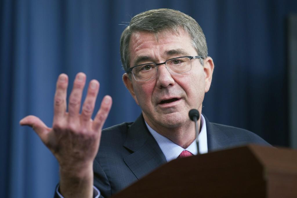 Defense Secretary Ash Carter (AP Photo/Cliff Owen, File)