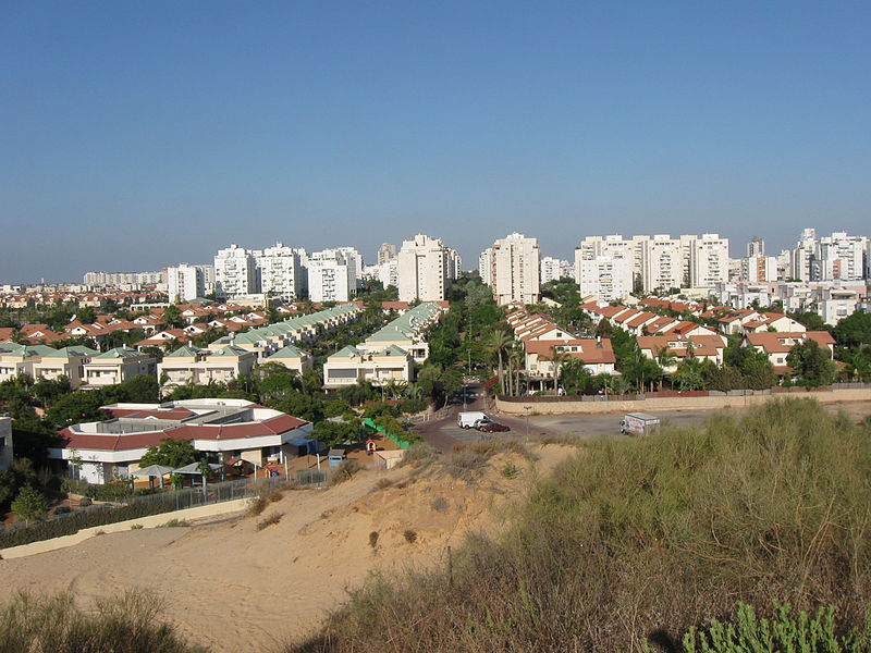 A view of Rishon LeZion (Ori)