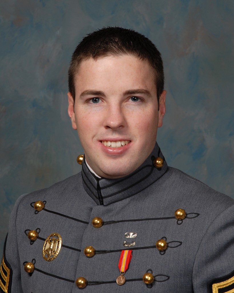 A 2009 photo provided by the United States Military Academy of Taylor Force, who was killed in the terrorist attack on Tuesday in Jaffa. (United States Military Academy via AP)