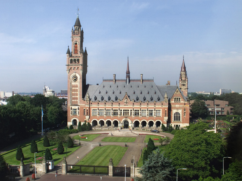 "Seat of the PCA: The Peace Palace (""Vredespaleis""), The Hague. (International Court of Justice)"