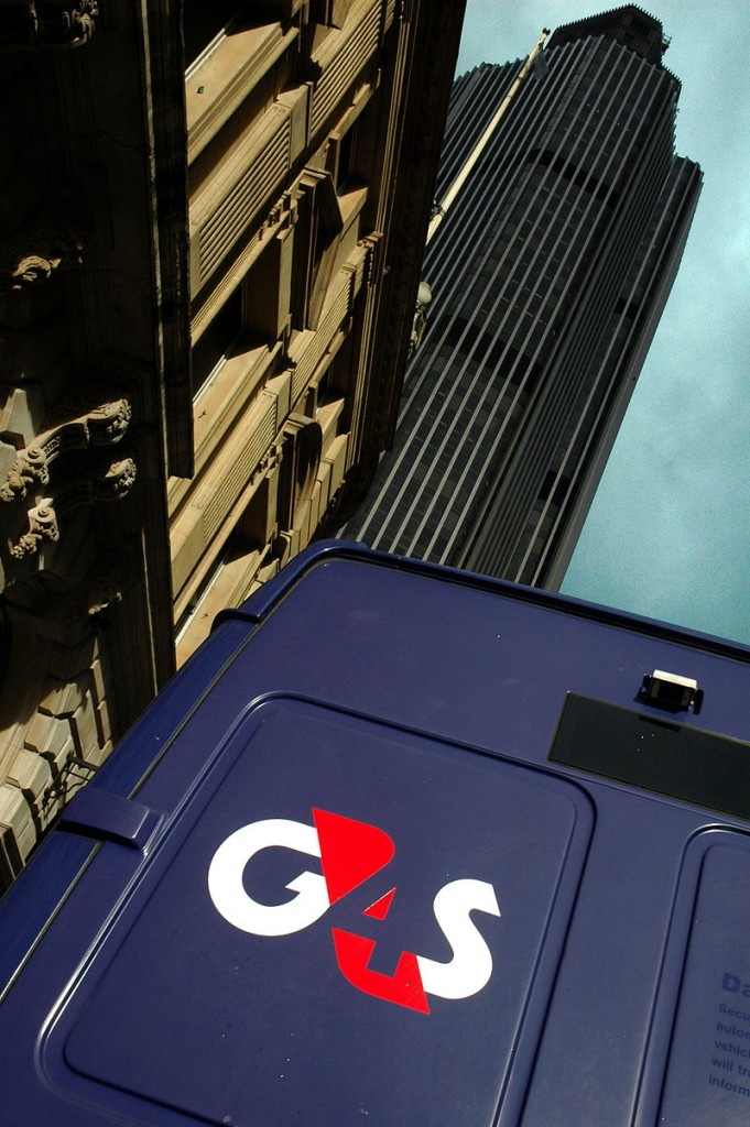A G4S van in central London. (G4S Ltd.)