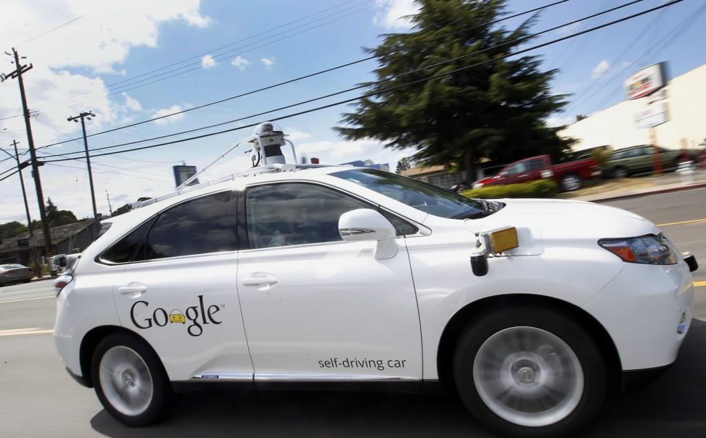 A Google's self-driving car. (AP Photo/Tony Avelar, File)