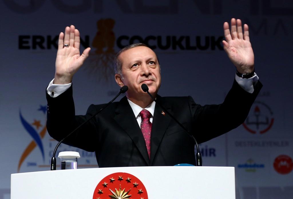 Turkey's President Recep Tayyip Erdogan (Kayhan Ozer, Presidential Press Service, Pool via AP)