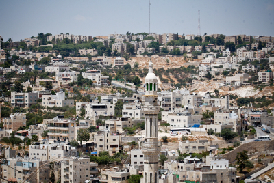 General view of Umm Lison Village and Armon Hanatsiv. Photo by Noam Moskowitz/Flash90