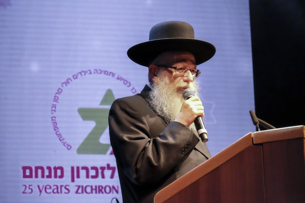 Health Minister Yaakov Litzman (Gershon Elinson/Flash90)