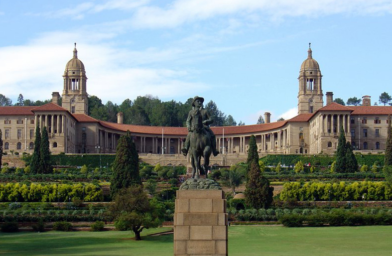 Union Buildings in Pretoria, South Africa. (Wiki)