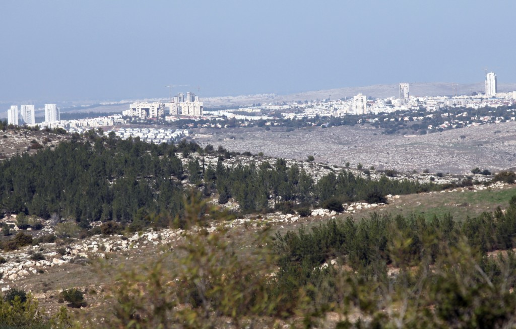 General view of the city of Modiin. Photo by Yossi Zamir/Flash90