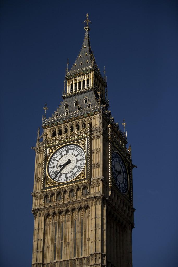TheElizabeth Tower, which houses the Big Ben bell in London. (AP Photo/Matt Dunham)
