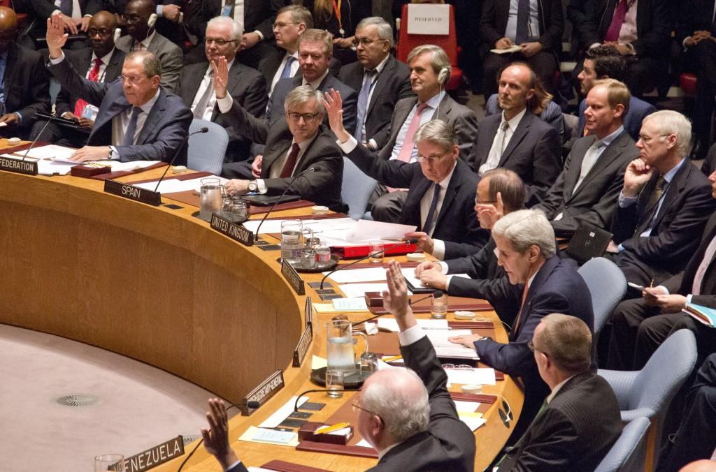 A gathering in the U.N. Security Council. (AP Photo/Bebeto Matthews)