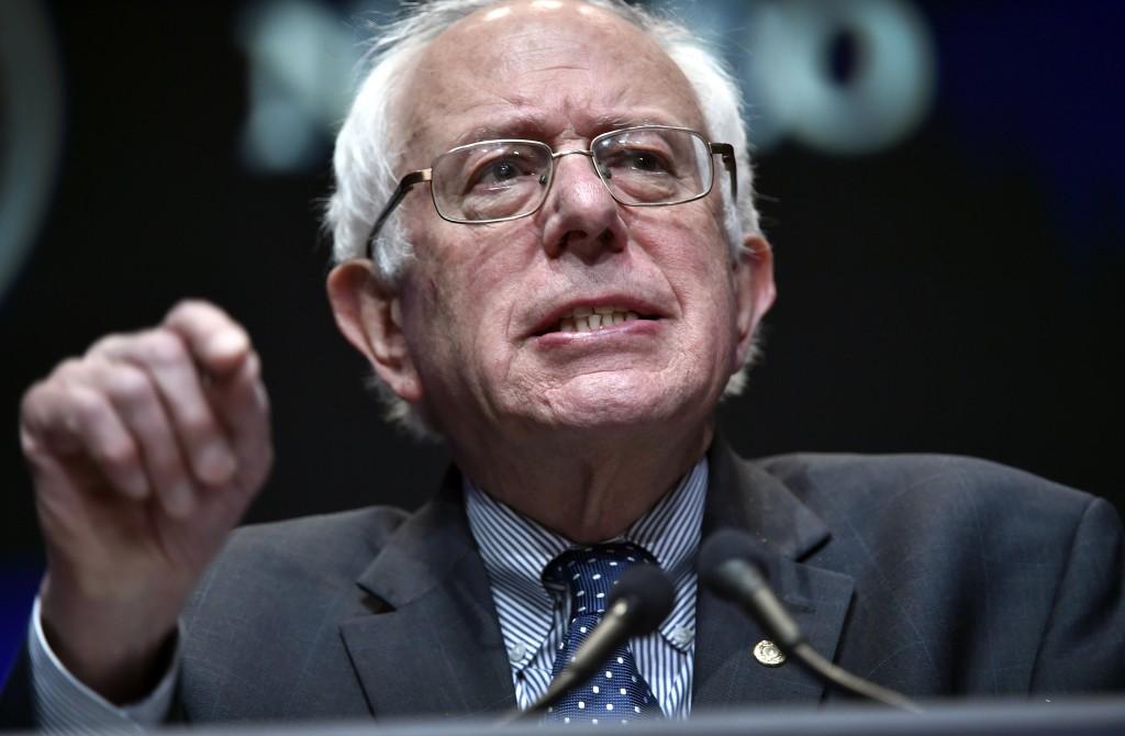 Bernie Sanders (AP Photo/David Becker)