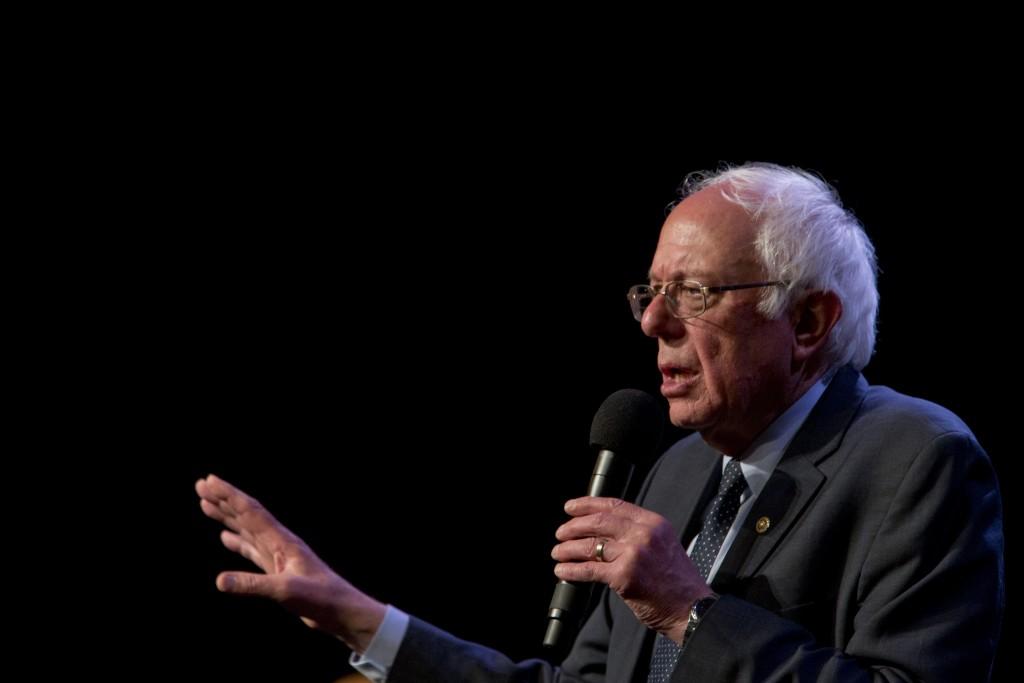 Democratic presidential candidate Bernie Sanders (AP Photo/Mary Altaffer)