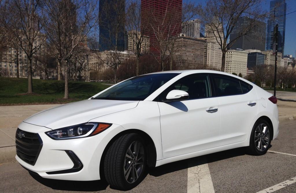 Auto Review 2017 Hyundai Elantra Packs More Tech Than The