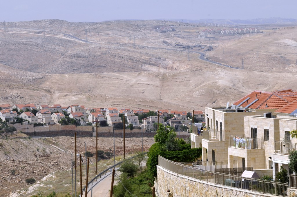 View of Ma'ale Adumim, In Yehudah. (Serge Attal/Flash90)