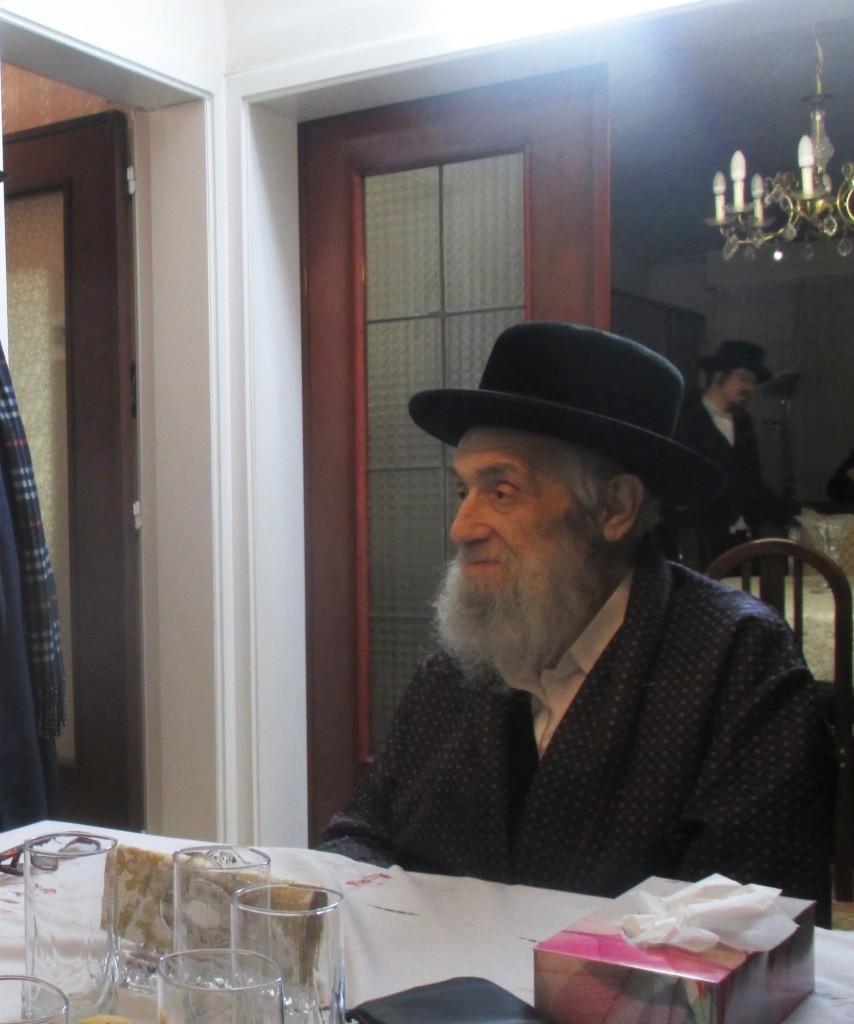 "Reb Dovid Galitzky, z""l. (Mordechai Zev Schwamenfeld)"