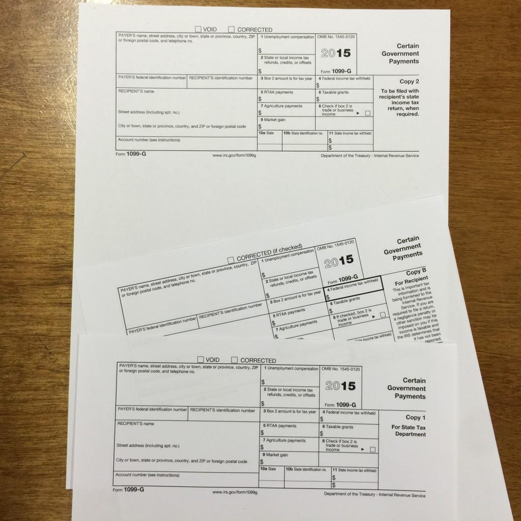 1099 forms (Isser Berg/Hamodia)