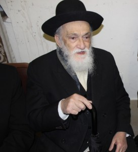 "The niftar, Harav Meir Soloweichik, zt""l. (Tzvi Blum)"
