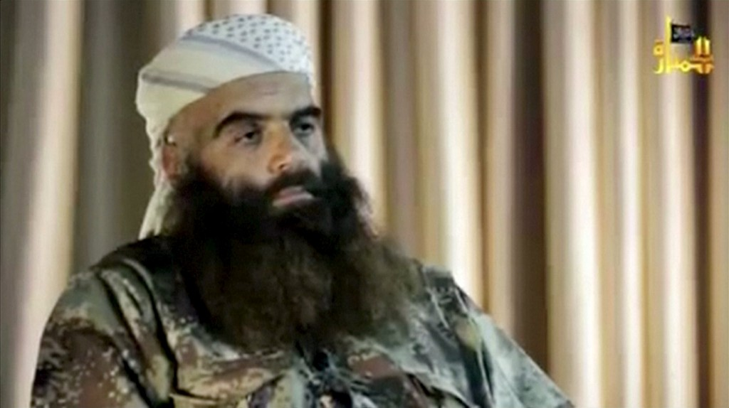 Abu Firas al-Suri, a prominent leader of Nusra Front, is seen in this still image taken from video. The United States has carried out an air strike in Syria that killed Abu Firas al-Suri, a prominent leader of al Qaeda offshoot Nusra Front, U.S. officials told Reuters on April 4, 2016. Social Media Website. ATTENTION EDITORS - THIS PICTURE WAS PROVIDED BY A THIRD PARTY. IT IS DISTRIBUTED EXACTLY AS RECEIVED BY REUTERS, AS A SERVICE TO CLIENTS. FOR EDITORIAL USE ONLY. NOT FOR SALE FOR MARKETING OR ADVERTISING CAMPAIGNS. NO RESALES. NO ARCHIVE. TPX IMAGES OF THE DAY