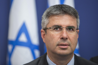 Director General of the Israel Tax Authority Moshe Asher. Photo by Noam Revkin Fenton/Flash90