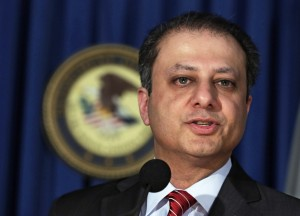 Preet Bharara, U.S. Attorney for the Southern District of New York (AP Photo/Richard Drew, File)