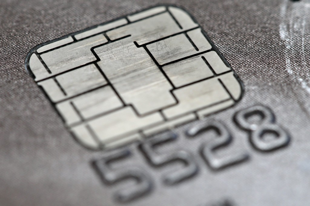 A chip credit card (AP Photo/Matt Rourke)