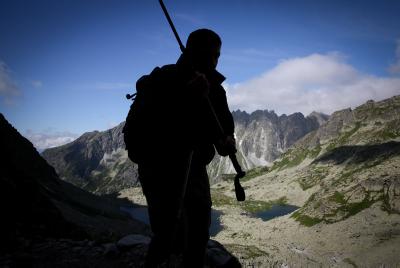 Hiker (Yossi Zamir/FLASH90)