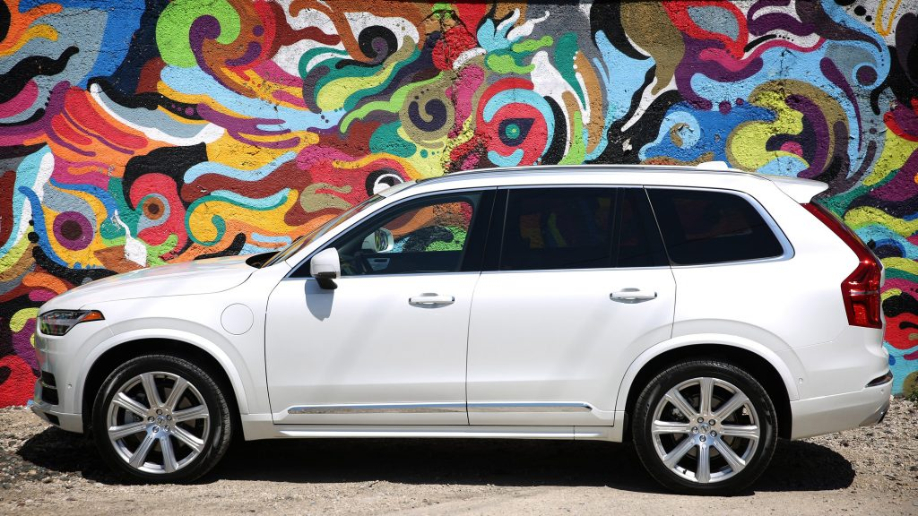 Volvo's all-new XC90 three-row SUV, the first car produced under ownership of Chinese multinational Geely, is a stunning entrant into the semi-autonomous, plug-in hybrid field. (E. Jason Wambsgans/Chicago Tribune/TNS)