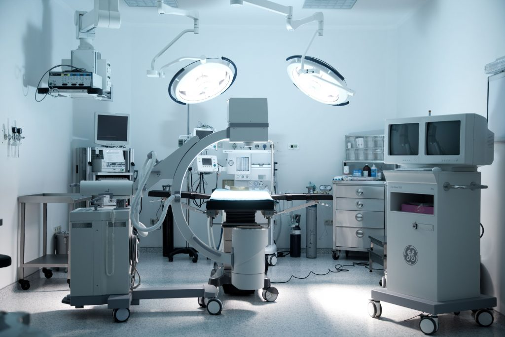 A Operating Room.