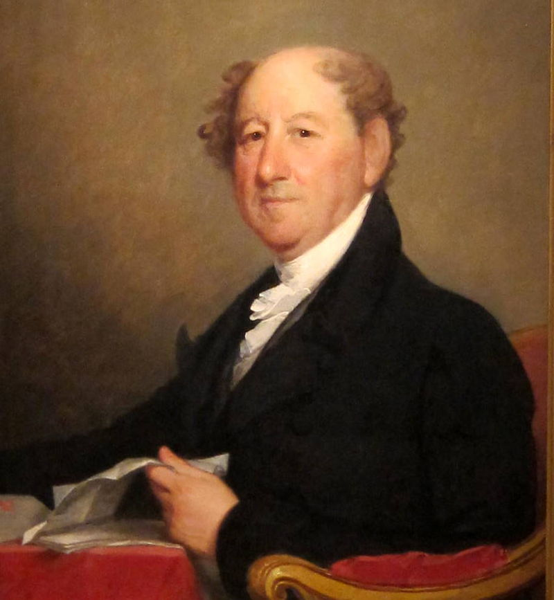 A portrait of Rufus King, painted by Gilbert Stuart, located in the National Portrait Gallery in Washington.
