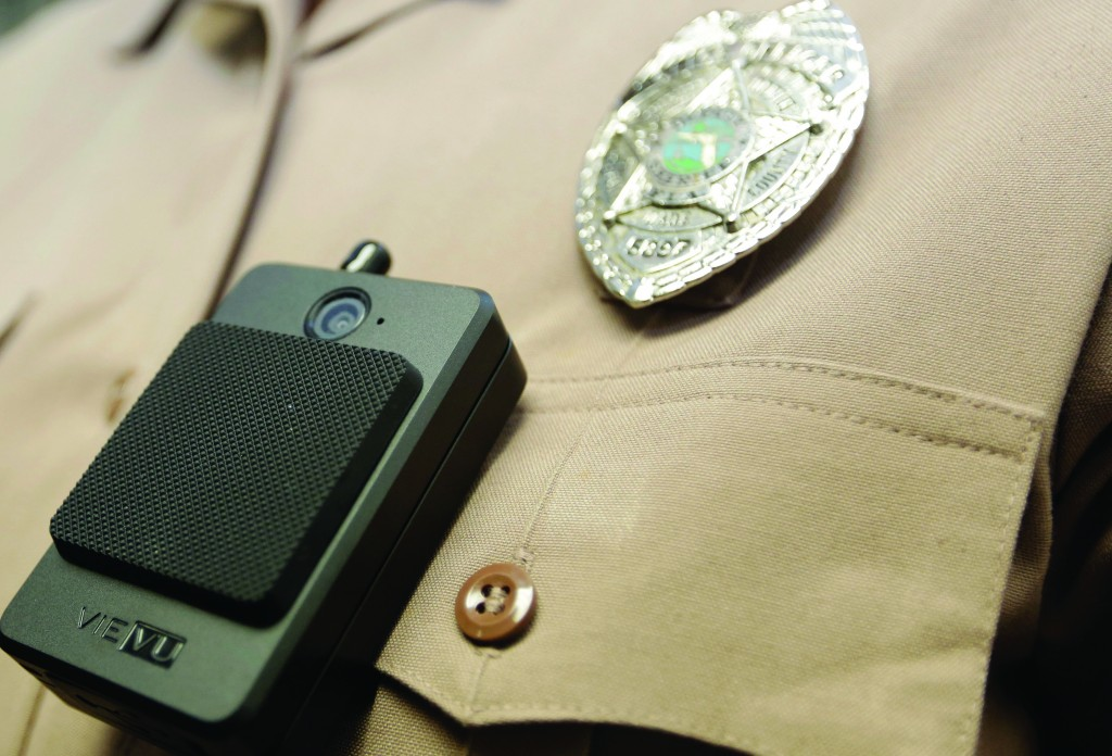 1,000 NYPD officers will begin using body cameras over the next few months. (AP Photo/Lynne Sladky)
