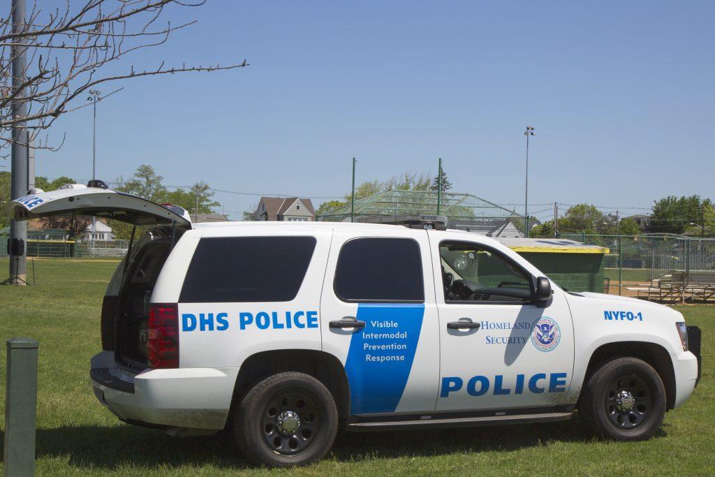 Department of Homeland Security Police providing security during Fleet Week. (123RF)