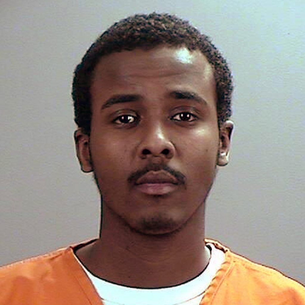 FILE - This undated file photo provided the Sherburne County, Minn., Sheriff's Office shows Abdirahman Yasin Daud, one of several Minnesota men accused of conspiring to travel to Syria to join the Islamic State group. Jury selection in the trial for Daud and two other men began Monday, May 9, 2016, in Minneapolis. (Sherburne County Sheriff's Office via AP, File)