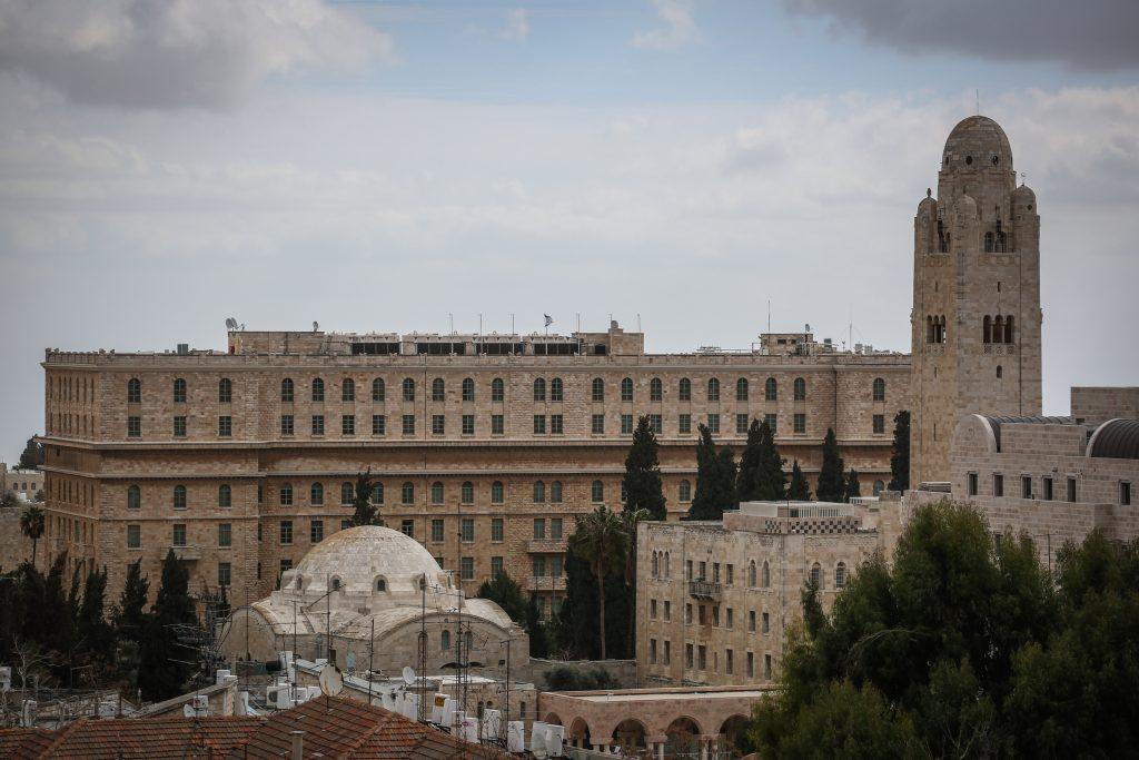 The King David Hotel (Hadas Parush/Flash90)